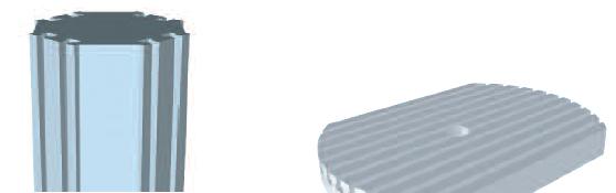 Mehrfachspannsystem hemo Monoblock oder Maschinentisch